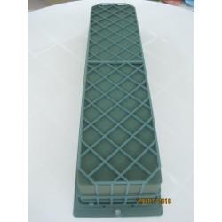Bandeja 2 esponjas con rejilla alargada